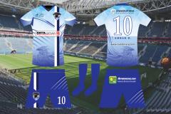 Escuela de Fútbol Fénix CG - Uniforme Oficial - Proyecto G100 - FEF
