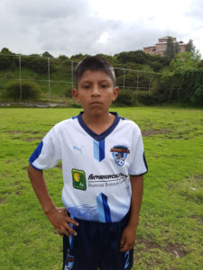 Pablo Criollo Chimba (Categoría Sub11)