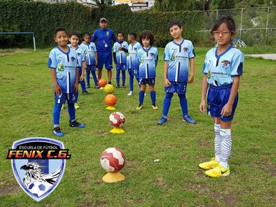 Escuela de Fútbol en Sangolquí - Fénix CG